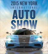 2015 New York International Auto Show Poster